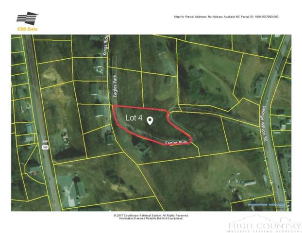 Lot 4, 5, 6 Eagles Path, Boone, NC 28607 (MLS #204781) :: Keller Williams Realty - Exurbia Real Estate Group