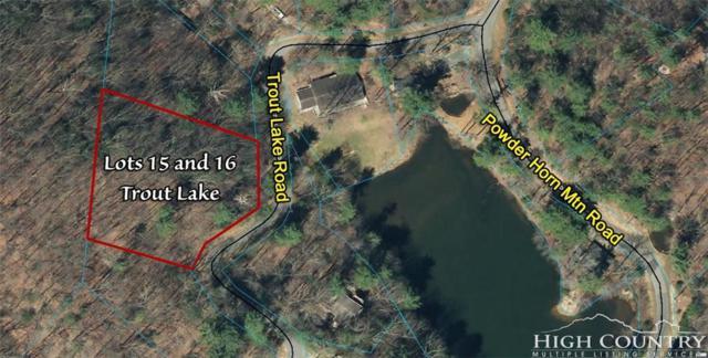 Lots 15 & 16 Trout Lake Road, Deep Gap, NC 28618 (MLS #205582) :: Keller Williams Realty - Exurbia Real Estate Group
