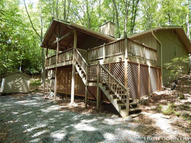 110 Teaberry Trail, Beech Mountain, NC 28604 (MLS #207665) :: Keller Williams Realty - Exurbia Real Estate Group