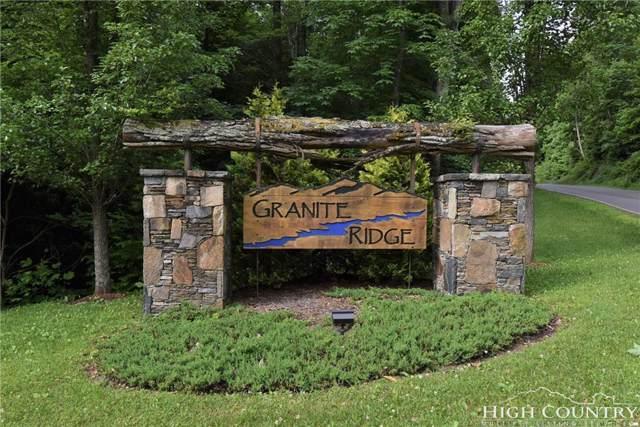 Lot 7 Granite Ridge Drive, Jefferson, NC 28640 (MLS #208259) :: Keller Williams Realty - Exurbia Real Estate Group