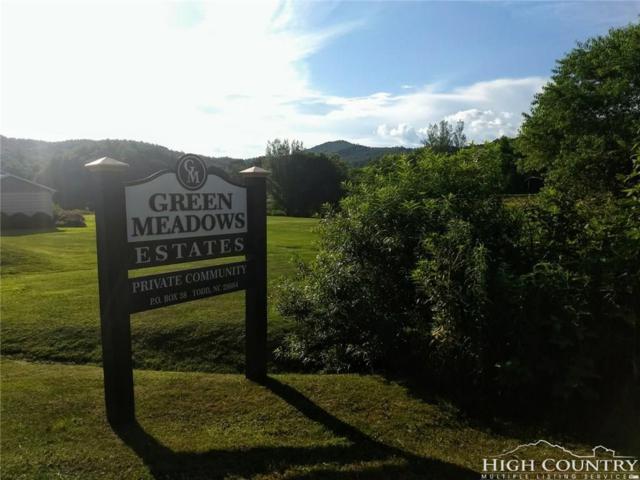 Lot #77 Green Meadows Drive, Todd, NC 28684 (MLS #208951) :: RE/MAX Impact Realty