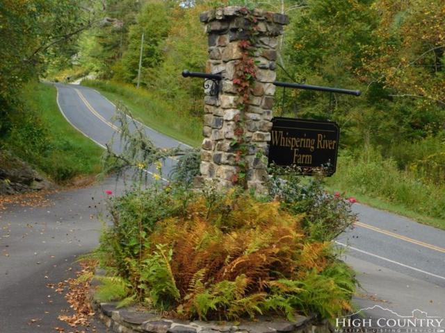 Lot 7 Whispering River Drive, Crumpler, NC 28617 (MLS #208967) :: RE/MAX Impact Realty