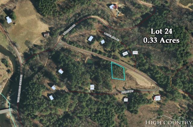 24 Alpine Way, Todd, NC 28684 (MLS #209479) :: Keller Williams Realty - Exurbia Real Estate Group