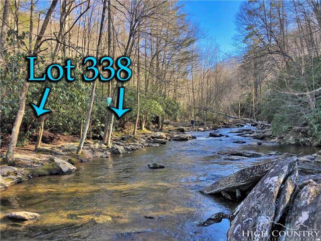 Lot 338 Twin Rivers Drive, Boone, NC 28607 (MLS #214031) :: RE/MAX Impact Realty