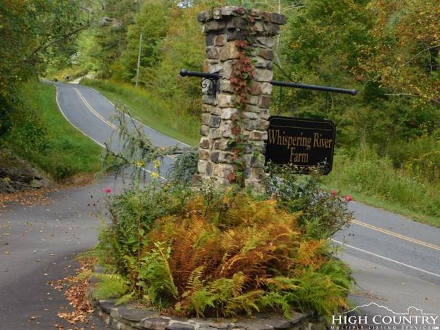 Lot 7 Whispering River Drive, Crumpler, NC 28617 (#215443) :: Mossy Oak Properties Land and Luxury