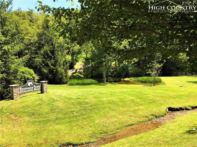 Lot 1 Horseshoe Creek, Banner Elk, NC 28604 (MLS #216967) :: RE/MAX Impact Realty