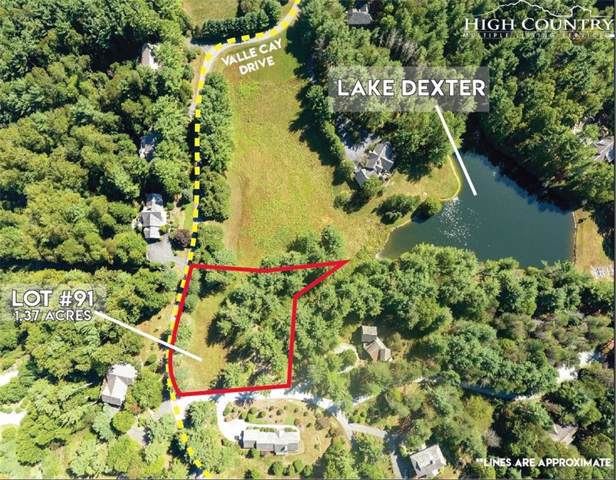 Lot 91 Valle Cay Drive, Vilas, NC 28692 (MLS #217319) :: RE/MAX Impact Realty