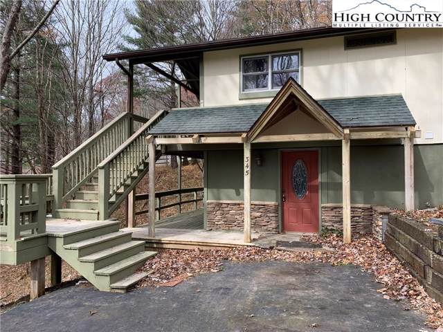 345 Ski Crest Park, Blowing Rock, NC 28605 (MLS #218601) :: RE/MAX Impact Realty