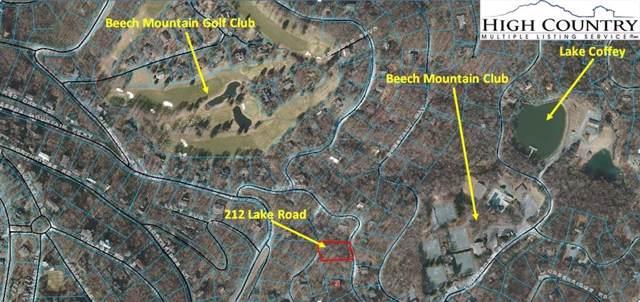 212 Lake Road, Beech Mountain, NC 28604 (MLS #218758) :: RE/MAX Impact Realty