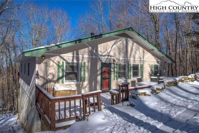 151 Pond Creek Road, Beech Mountain, NC 28604 (MLS #220255) :: RE/MAX Impact Realty