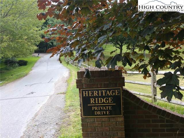 TBD Heritage Drive, Boone, NC 28607 (#223927) :: Mossy Oak Properties Land and Luxury