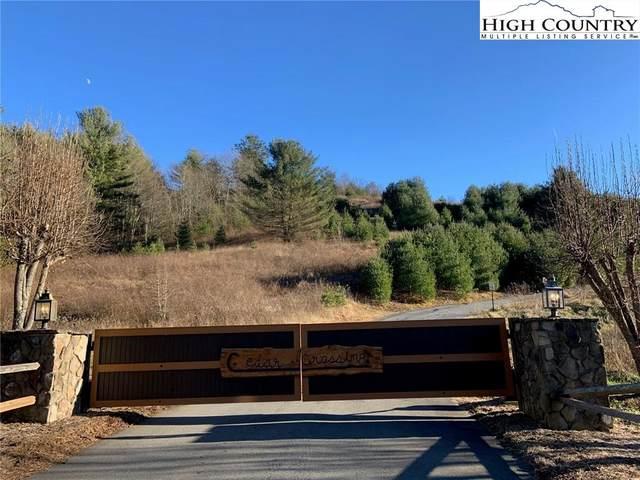 tbd Cedar Crossing #32, Fleetwood, NC 28626 (#227597) :: Mossy Oak Properties Land and Luxury