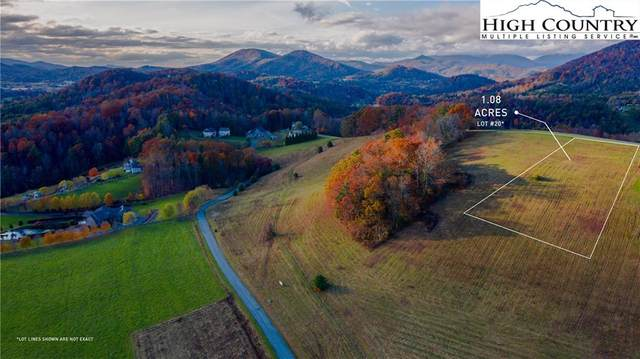 Lot 20 Hartley Knob Road, Boone, NC 28607 (#227743) :: Mossy Oak Properties Land and Luxury