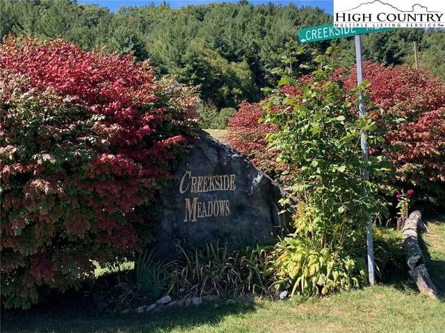 Lot 44 Lake Front Drive, Fleetwood, NC 28626 (#228348) :: Mossy Oak Properties Land and Luxury