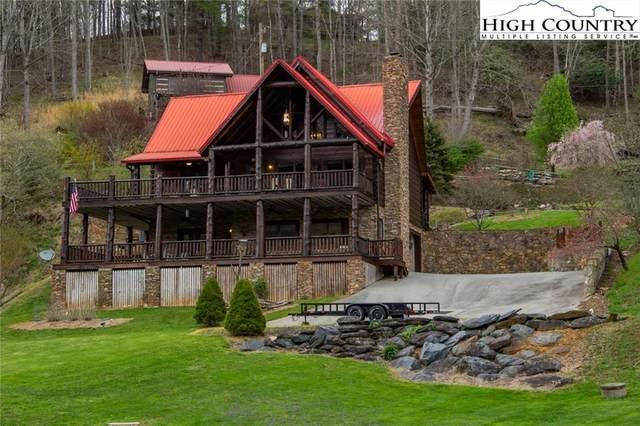 347 Hidden Mountain Lane, Crumpler, NC 28617 (MLS #229559) :: RE/MAX Impact Realty