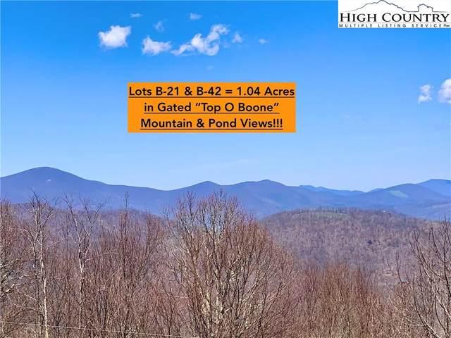 Lot B-21 & B-42 Running Deer Trail, Boone, NC 28607 (#231153) :: Mossy Oak Properties Land and Luxury
