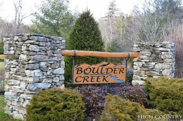 Lot 18 Boulder Creek Drive Drive, Boone, NC 28607 (MLS #205599) :: Keller Williams Realty - Exurbia Real Estate Group