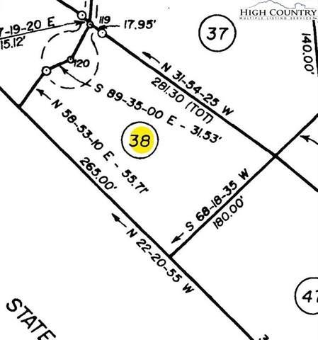 Lot 38 Fawn Trail Lane, Piney Creek, NC 28663 (#226335) :: Mossy Oak Properties Land and Luxury