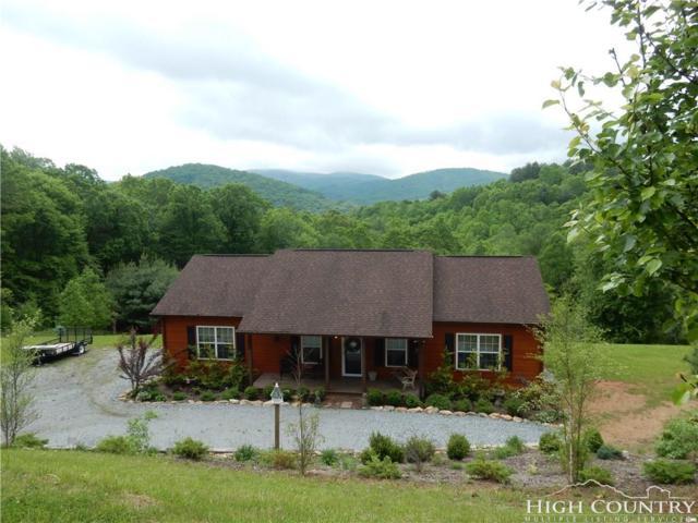 645 Toms Knob Road, Sparta, NC 28675 (MLS #207334) :: Keller Williams Realty - Exurbia Real Estate Group