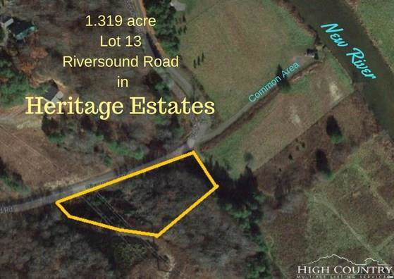 Lot 13 Riversound Drive, West Jefferson, NC 28694 (MLS #214149) :: RE/MAX Impact Realty