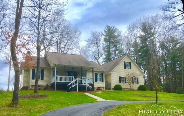 96 Holly Run Road, Glade Valley, NC 28627 (MLS #205754) :: Keller Williams Realty - Exurbia Real Estate Group