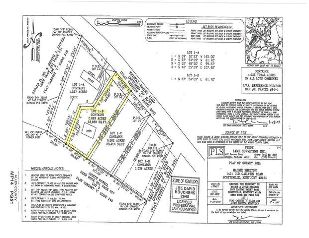 Lot 1-B Halifax Bailey Rd, Scottsville, KY 42164 (MLS #20210610) :: Reesy Real Estate Team | Keller Williams First Choice Realty