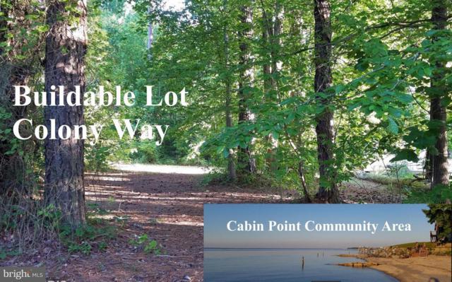 0 Lot 10 Colony Way, MONTROSS, VA 22520 (#1000026097) :: Colgan Real Estate