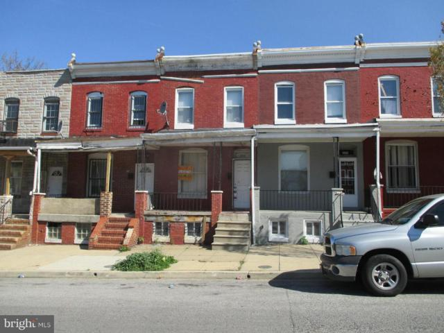 2156 Hollins Street, BALTIMORE, MD 21223 (#1000040763) :: Colgan Real Estate