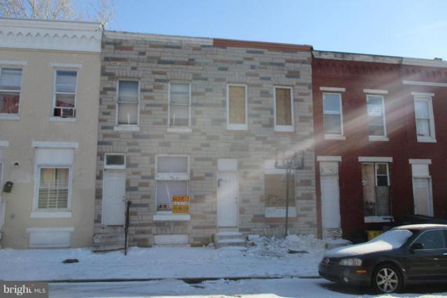 2009 Hollins Street, BALTIMORE, MD 21223 (#1000041575) :: AJ Team Realty
