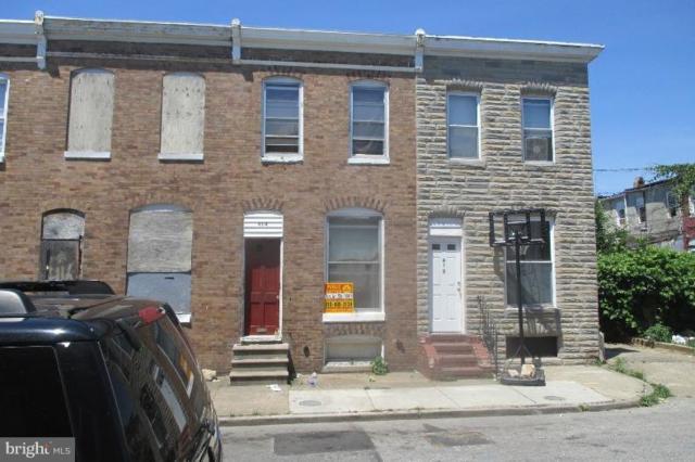 414 Furrow Street, BALTIMORE, MD 21223 (#1000043797) :: The Miller Team