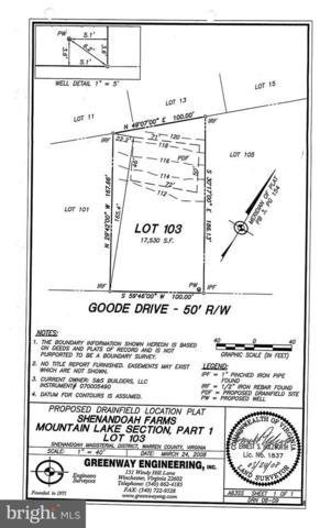 103-LOT Goode Drive, FRONT ROYAL, VA 22630 (#1000074839) :: Remax Preferred | Scott Kompa Group