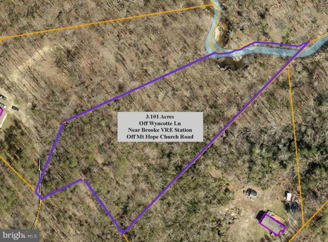 0 Wyncotte Lane, STAFFORD, VA 22554 (#1000095217) :: Better Homes Realty Signature Properties