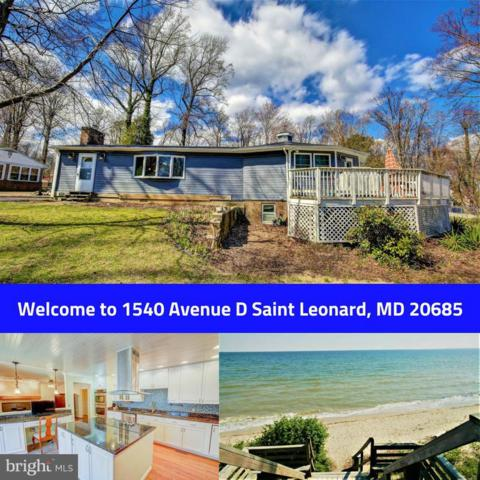 1540 Avenue D, SAINT LEONARD, MD 20685 (#1004160193) :: The Maryland Group of Long & Foster