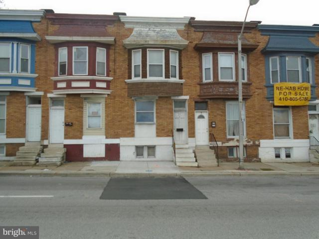 2117 Mulberry Street W, BALTIMORE, MD 21223 (#1004389663) :: AJ Team Realty