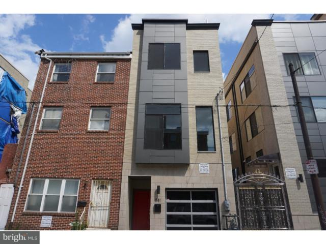 541 N 12TH Street, PHILADELPHIA, PA 19123 (#1005949959) :: McKee Kubasko Group
