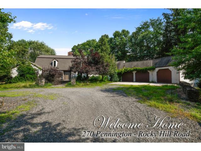 270 Pennington Rocky Hill Road, PENNINGTON, NJ 08534 (#1005959089) :: REMAX Horizons