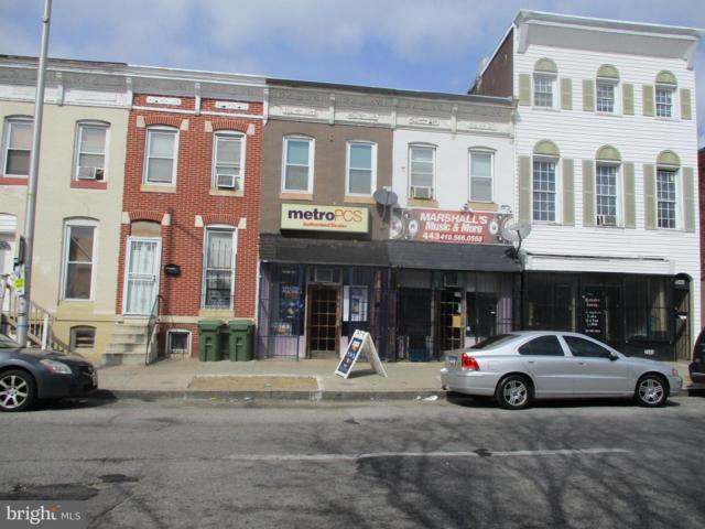 1946 Pratt Street W, BALTIMORE, MD 21223 (#1000257100) :: Browning Homes Group