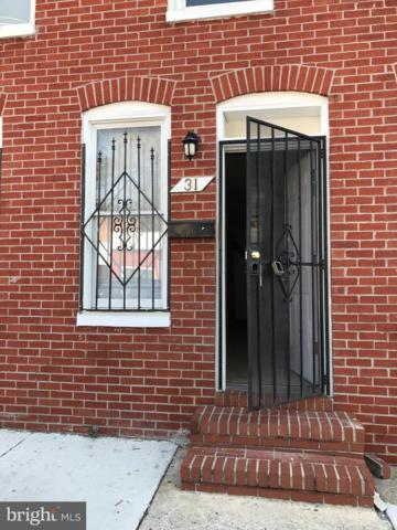 31 South Carey Street, BALTIMORE, MD 21223 (#1001536290) :: The Putnam Group