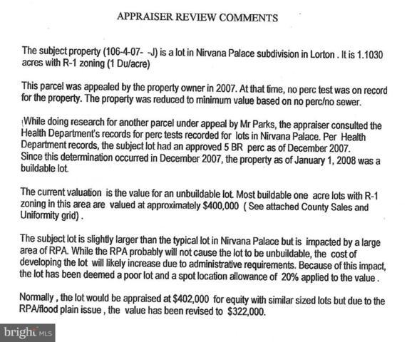 LOT J Nirvana Court, LORTON, VA 22079 (#1001650114) :: The Miller Team