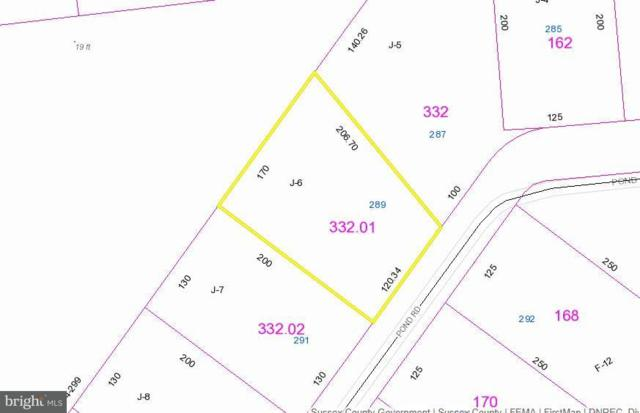 289 Lot J-6 Pond, MILLSBORO, DE 19966 (#1001735980) :: RE/MAX Coast and Country