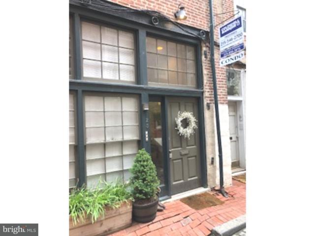 125 Cuthbert Street A, PHILADELPHIA, PA 19106 (#1001757652) :: The John Wuertz Team