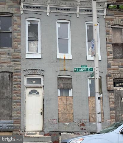 1813 Lanvale Street W, BALTIMORE, MD 21217 (#1001839506) :: ExecuHome Realty