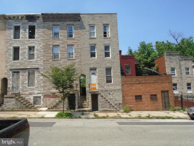 2552 Hollins Street, BALTIMORE, MD 21223 (#1001916708) :: Colgan Real Estate