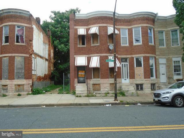 1743 Carey Street, BALTIMORE, MD 21217 (#1001932546) :: John Smith Real Estate Group