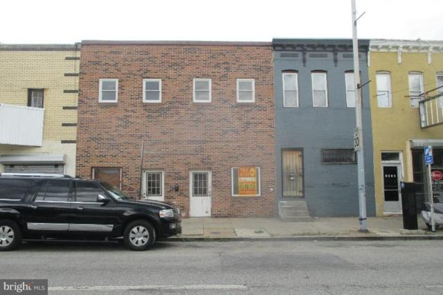 1922 Pratt Street W, BALTIMORE, MD 21223 (#1001939868) :: Browning Homes Group