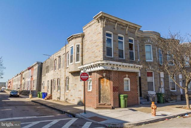 1118 Carey Street S, BALTIMORE, MD 21223 (#1001955256) :: Labrador Real Estate Team