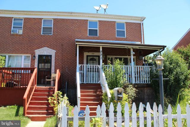771 Seawall Road, BALTIMORE, MD 21221 (#1002017182) :: ExecuHome Realty