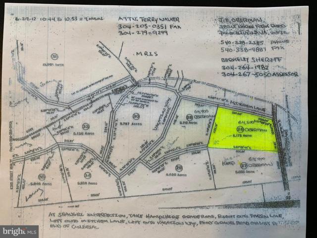 Lot 26 Parsons Road, HEDGESVILLE, WV 25427 (#1002022530) :: Eng Garcia Grant & Co.
