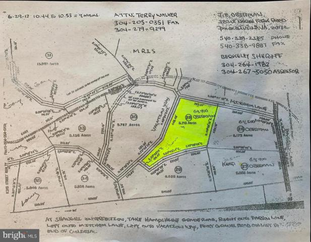 Lot 28 Vacation Way, HEDGESVILLE, WV 25427 (#1002028454) :: Eng Garcia Grant & Co.