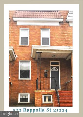 522 Rappolla Street, BALTIMORE, MD 21224 (#1002056828) :: Circadian Realty Group